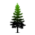 pine tree icon - The Pines at Willingway - Addiction treatment for adolescents 14-18 years old - young adult drug rehab - adolescent alcohol rehab center ga